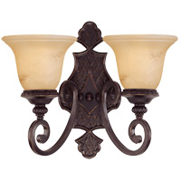 Savoy House Knight 2 Light Sconce in Antique Copper 9P-50217-2-16