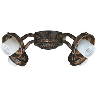 Savoy House Fitter 4 Light Fan Light Kit in New Tortoise Shell FLC418-56 photo thumbnail