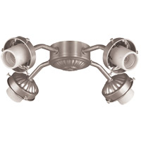 Fitter 4 Light Satin Nickel Fan Fitter
