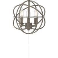 Savoy House FLG-103-45 North LED Aged Wood Fan Light kit