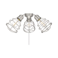 Heath 3 Light Satin Nickel Fan Light kit