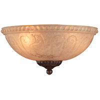 Savoy House Indigo 3 Light Fan Light Kit in Bark & Gold FLGC-850-52 photo thumbnail