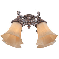 Savoy House Artesno 4 Light Fan Light Kit in New Tortoise Shell FLGC-991-56 photo thumbnail
