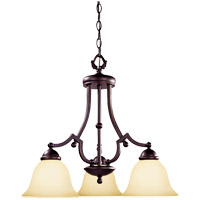 Savoy House Saville 3 Light Chandelier in Slate GZ-1-2089-3-25 photo thumbnail
