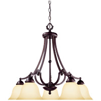 Savoy House Saville 5 Light Chandelier in Slate GZ-1-2090-5-25