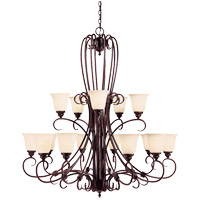 Savoy House Brandywine 15 Light Chandelier in New Tortoise Shell GZ-1-2895-15-56