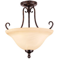 Savoy House Brandywine 3 Light Semi-Flush in New Tortoise Shell GZ-6-2892-3-56