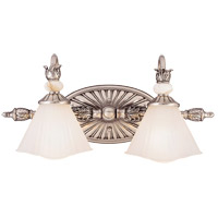Savoy House Sorrellina 2 Light Vanity Light in Sterling Silver GZ-8-192-2-99