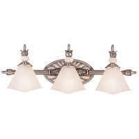Savoy House Sorrellina 3 Light Vanity Light in Sterling Silver GZ-8-192-3-99