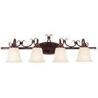 Savoy House Brandywine 4 Light Vanity Light in New Tortoise Shell GZ-8-2894-4-56 photo thumbnail
