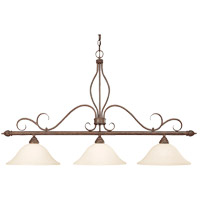 Savoy House Bryce 3 Light Island Light in Sunset Bronze KP-1-1903-3-91