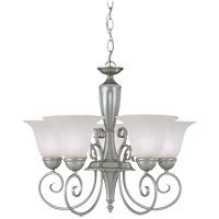 Savoy House 1-5001-5-69 Spirit 5 Light 23 inch Pewter Chandelier Ceiling Light