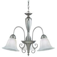 Savoy House 1-5002-3-69 Spirit 3 Light 22 inch Pewter Chandelier Ceiling Light