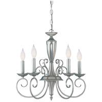 Savoy House KP-1-5005-5-69 Spirit 5 Light 20 inch Pewter Chandelier Ceiling Light