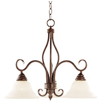 Savoy House Bryce 3 Light Chandelier in Sunset Bronze KP-100-3-91