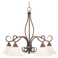Savoy House Bryce 5 Light Chandelier in Sunset Bronze KP-101-5-91