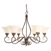 Bryce 6 Light 33 inch Sunset Bronze Chandelier Ceiling Light