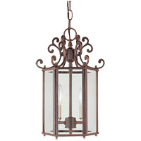 Savoy House KP-3-500-2-40 Liberty 2 Light 10 inch Walnut Patina Foyer Ceiling Light photo thumbnail