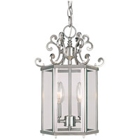 Spirit 2 Light 10 inch Pewter Foyer Light Ceiling Light