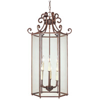 Savoy House KP-3-503-6-40 Liberty 6 Light 17 inch Walnut Patina Foyer Light Ceiling Light