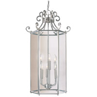 Spirit 6 Light 17 inch Satin Nickel Foyer Lantern Ceiling Light