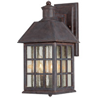 Savoy House Abbey 3 Light Outdoor Wall Lantern in Sunset Bronze KP-5-100-91