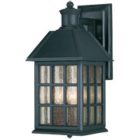 Savoy House Abbey 3 Light Outdoor Wall Lantern in Flat Black KP-5-100-BK