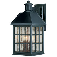 Savoy House Abbey 4 Light Outdoor Wall Lantern in Flat Black KP-5-103-BK