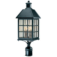 Savoy House Abbey 4 Light Outdoor Post Lantern in Flat Black KP-5-104-BK