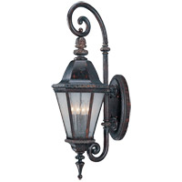 Savoy House Canterbury 4 Light Outdoor Wall Lantern in Bark and Gold KP-5-203-52