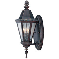 Savoy House Canterbury 2 Light Outdoor Wall Lantern in Bark and Gold KP-5-204-52