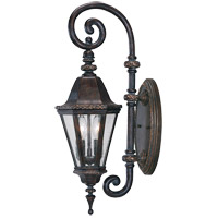Savoy House Canterbury 2 Light Outdoor Wall Lantern in Bark and Gold KP-5-205-52