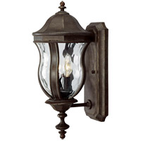 Monticello 2 Light 18 inch Walnut Patina Outdoor Wall Lantern