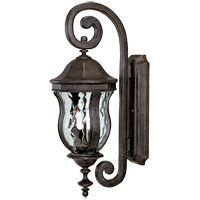 Monticello 2 Light 22 inch Walnut Patina Outdoor Wall Lantern