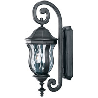 Monticello 2 Light 22 inch Black Outdoor Wall Lantern