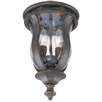 Savoy House Monticello 2 Light Outdoor Flush Mount in Walnut Patina KP-5-307-40