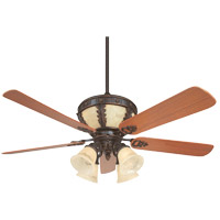 Savoy House Chatwick 4 Light Ceiling Fan in Antique Copper (Blades sold separately) KP-52-105-MO-16 photo thumbnail