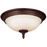 Savoy House Liberty 3 Light Flush Mount in Walnut Patina KP-6-506-15-40 photo thumbnail
