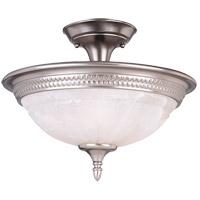 Savoy House KP-6-508-3-69 Spirit 3 Light 15 inch Pewter Semi-Flush Mount Ceiling Light