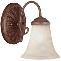 Savoy House KP-8-510-1-40 Liberty 1 Light 6 inch Walnut Patina Bath Bar Wall Light