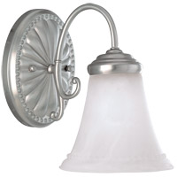 Spirit 1 Light 6 inch Pewter Bath Bar Wall Light