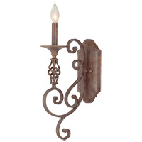 Savoy House Karyl Pierce Paxton Mini Pendants Valencia 1 Light Sconce in Rustic Bronze KP-9-6035-1-72 photo thumbnail