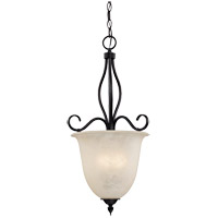 Oxford 4 Light 18 inch English Bronze Pendant Ceiling Light