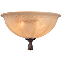 Savoy House Palazzo 2 Light Fan Light Kit in Walnut Patina KP-FLGC-400-40