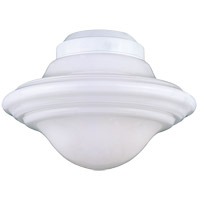 Signature 1 Light CFL White Fan Light Kit