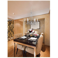 Savoy House KP-SS-116-6-69 Polar 6 Light 25 inch Pewter Chandelier Ceiling Light alternative photo thumbnail