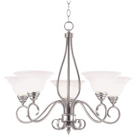 Savoy House Polar 5 Light Chandelier in Pewter KP-SS-95-5-69