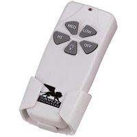 Savoy House RMT001 Signature White/Cream Hand Held Fan Control, Hand Held