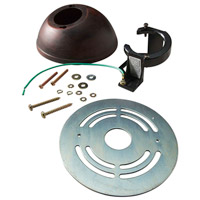 Slope Kit Aged Wood Ceiling Fan Slope Kit