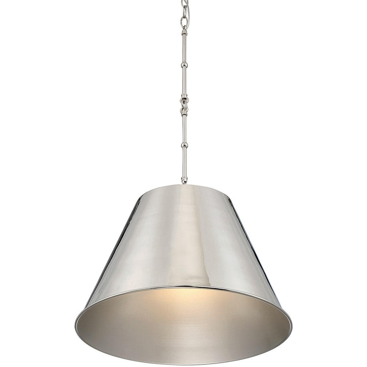 Modern Bedrooms With Eye Catching Hanging Lamps: Savoy House Lighting 7-131-1-109 Alden Pendant Polished